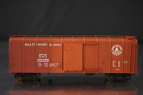 PRECISION SCALE CO BALTIMORE & OHIO CLASS M-53 WAGON TOP BOXCAR F/P MINT