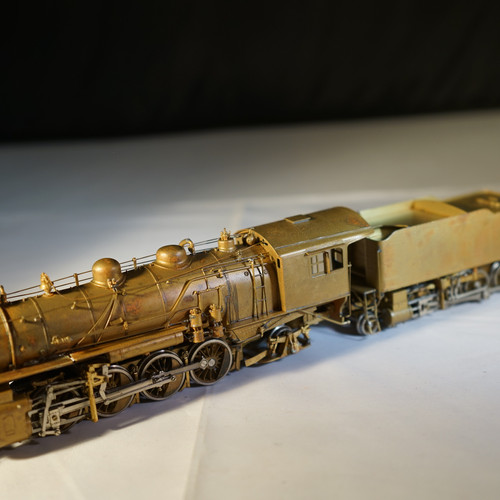 Howies brass train shop