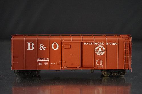 PRECISION SCALE BALTIMORE & OHIO CLASS M-53 WAGON TOP BOXCAR F/P NEW