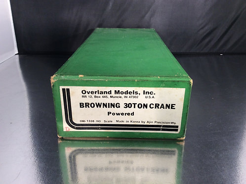 OVERLAND BROWNING 30 TON CRANNE POWERED PAINTED EXCELLENT