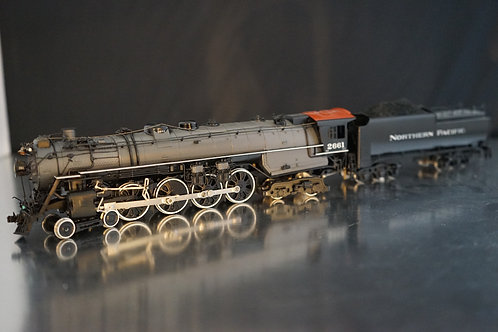 PACIFIC FAST MAIL NORTHERN PACIFIC 4-8-4 A-3 C/P EXCELLENT