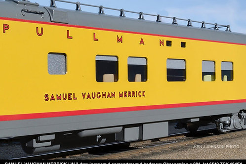 EXCLUSIVE UNION PACIFIC SAMUAL VAUGHAN MERRICK 2-1-1 OBSERVATION FP BRAND NEW