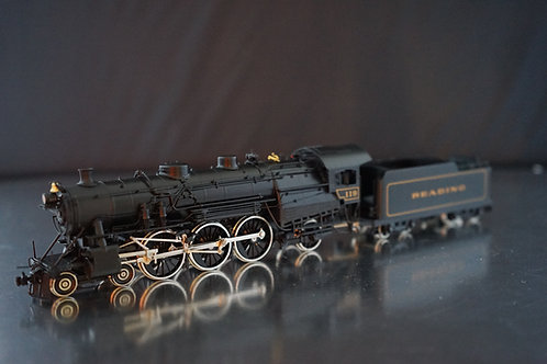 OVERLAND MODELS READING CLASS GlSa 4-6-2 #119 F/P LIKE NEW