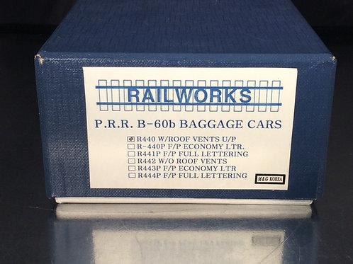 RAILWORKS PENNSYLVANIA CLASS B60b BAGGAGE U/P BRAND NEW
