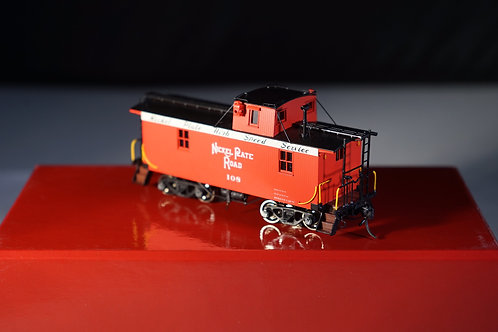 DIVISION POINT BOO RIM KOREAN IMPORT NICKEL PLATE PRODUCTS WOOD CABOOSE F/P BRAN