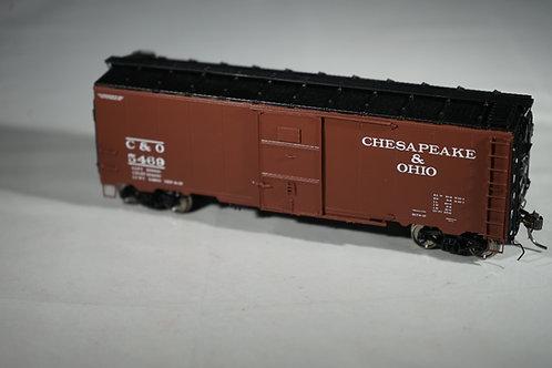 AMERICAN SCALE MODELS CHESAPEAKE & OHIO '37 AAR BOXCAR ART DECO ENDS BRAND NEW