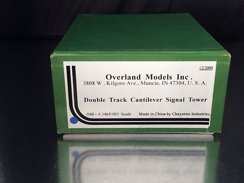 OMI DOUBLE TRACK CANTILEVER SIGNAL TOWER U/P BRAND NEW