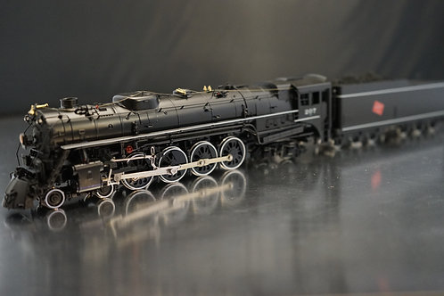 PACIFIC FAST MAIL CROWN MILWAUKEE S-2 4-8-4 C/P EXCELLENT
