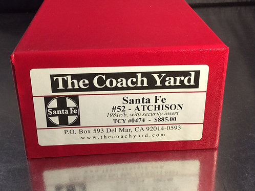 TCY SANTA FE BUSINESS CAR #52 FACTORY PAINTED BRAND NEW