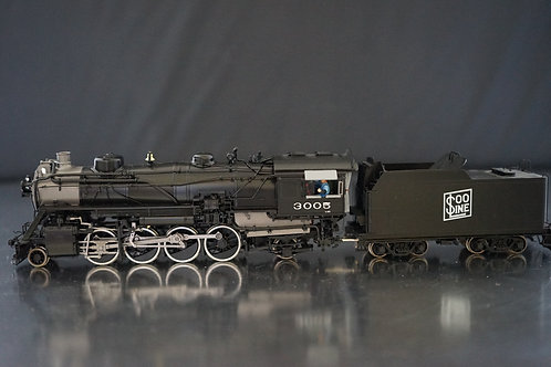 DIVISION POINT SOO LINE CLASS L20 #3005 2-8-2 F/P LIKE NEW