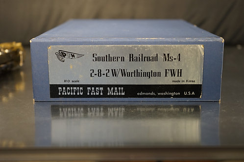PFM SOUTHERN RWY 2-8-2 MS-4 w/WORTHINGTON U/P NEW