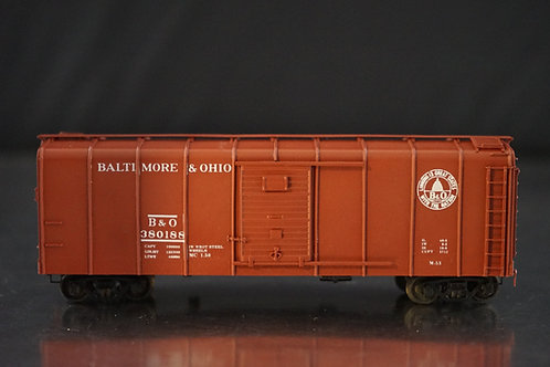 PRECISION SCALE CO BALTIMORE & OHIO M-53 WAGON TOP BOXCAR YOUNGSTOWN DOOR FP NEW