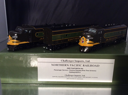 CHALLENGER NORTHERN PACIFIC F3A,F3B,F5A NORTH COAST LTD. F/P BRAND NEW
