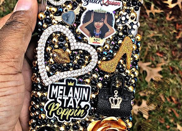Melanin queen phone case