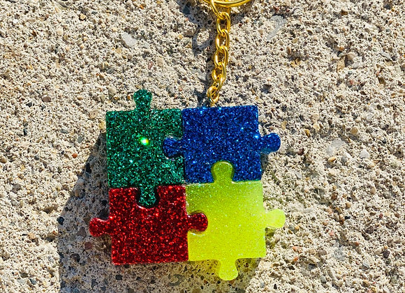 Autism keychain