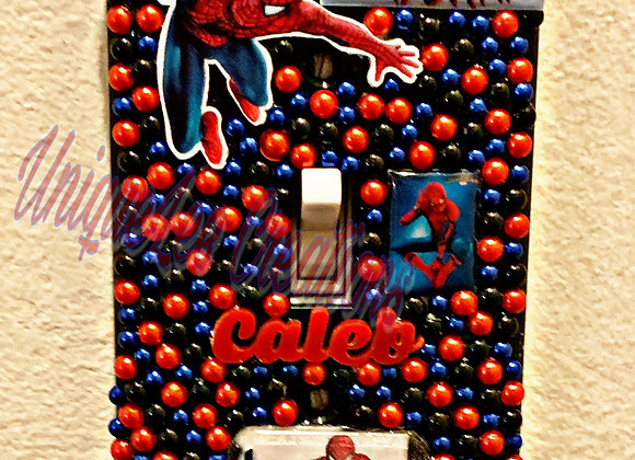 Spider -Man light switch cover