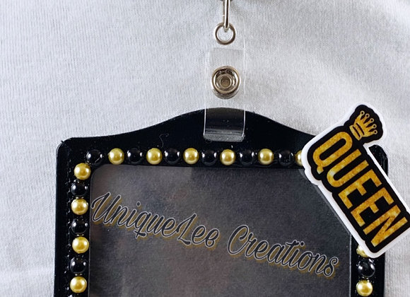 Black girl magic work badge