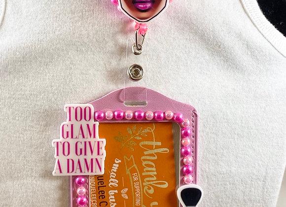 Too Damn Glam badge