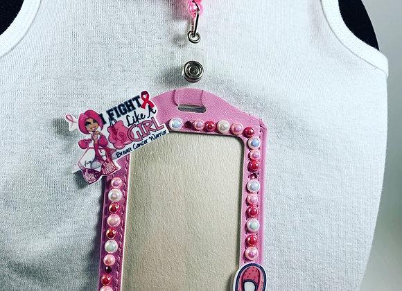 Breast Cancer I.D holder