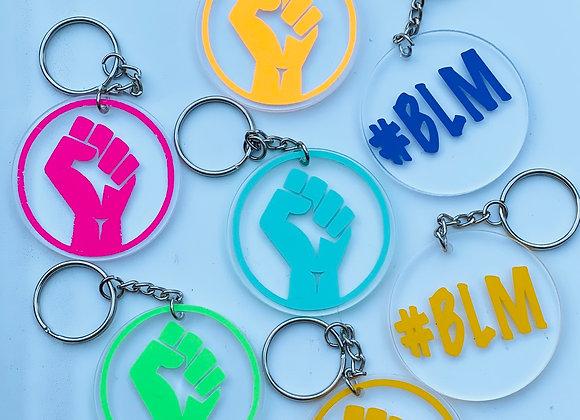 Black Lives Matter keychains