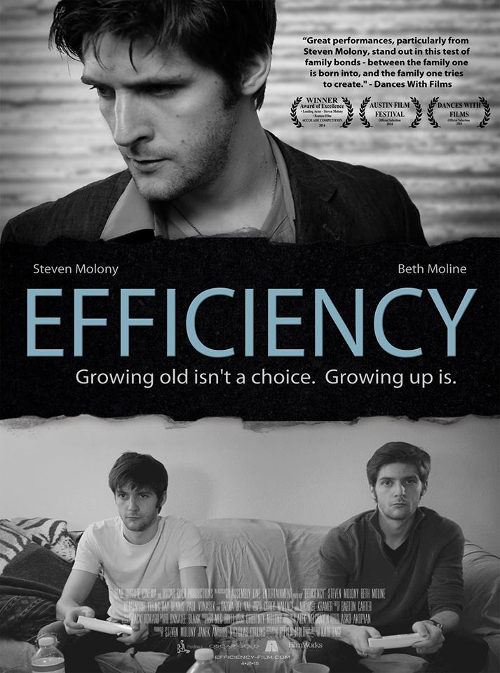 Efficiency DVD Cover Art