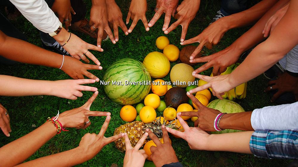 Nur Mut, Diversität tut uns allen gut!