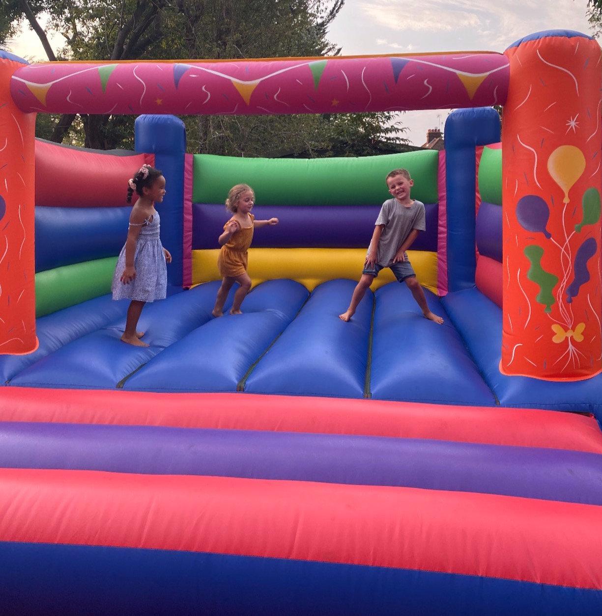 lets party 12x15 castle