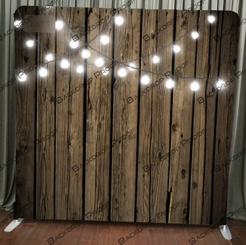 Wood with Lights