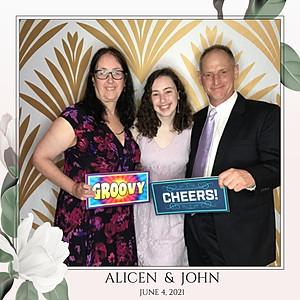 Alicen & John