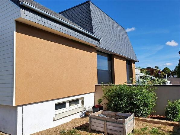Peinture sur facade Caen
