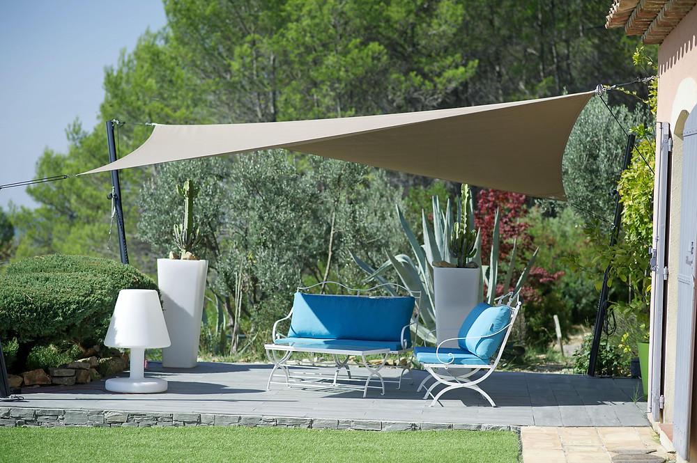 terrasse pour l'été