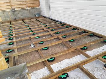 Création de terrasse en bois 1