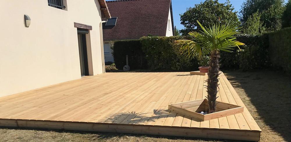orientation de la terrasse au soleil