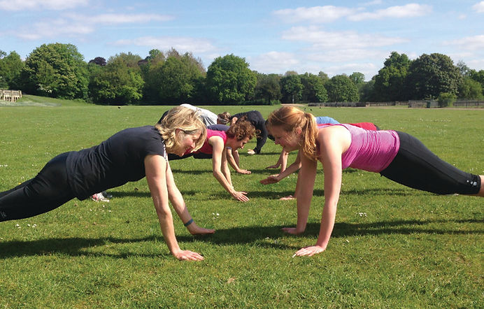 C28 outdoor workout