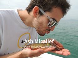 Ash Micallef squid kisser