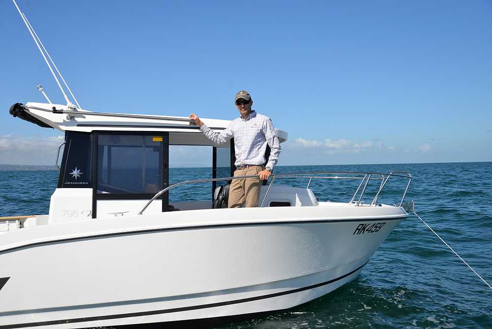 Jenneau's Merry Fisher 795 Marlin could well become as desirable as its piscatorial name-sake.