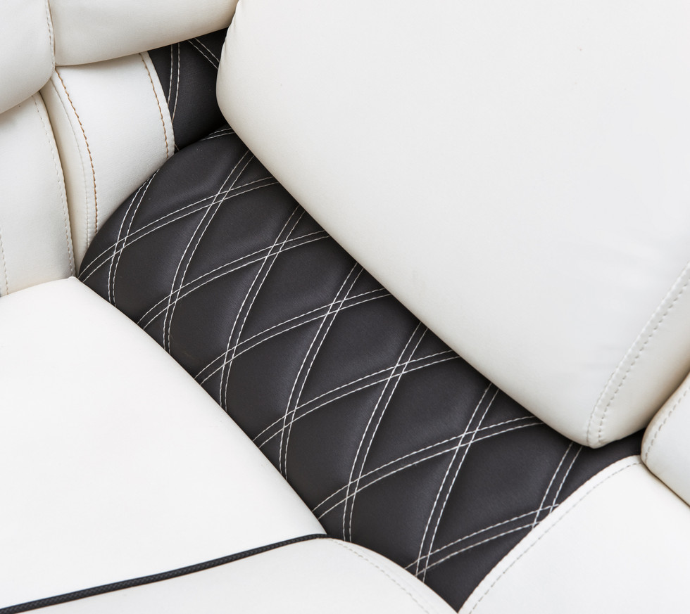 LUXURIOUS UPHOLSTERY