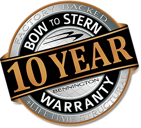 10 Year Warranty Seal - Silver & Firecra
