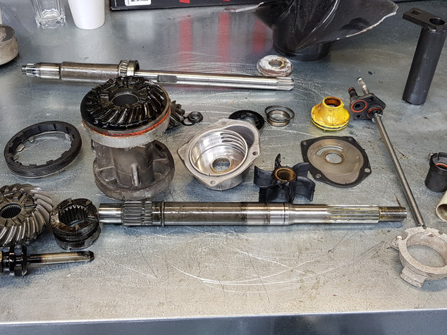 Damaged Drive Systems