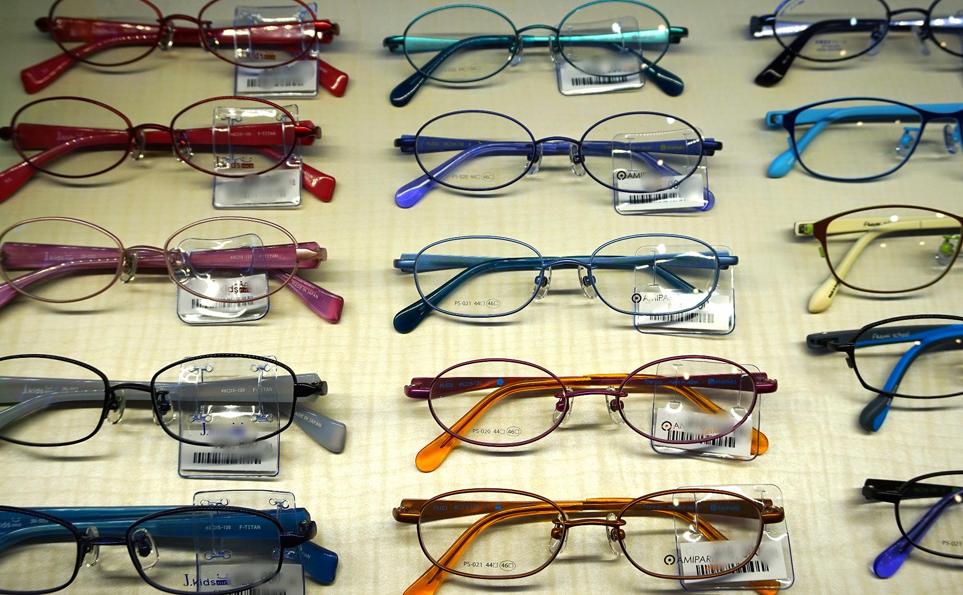 小児用眼鏡