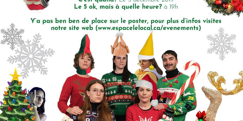 Party de Noël des travailleurs autonomes et entrepreneurs d'Hochelag!