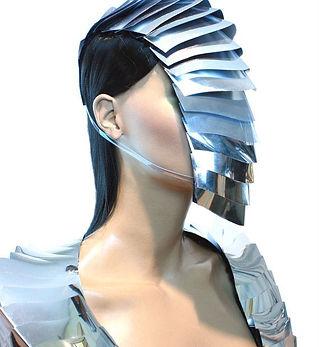futuristic armadilla nautilus goggles mask , sci fi, cyber eyewear, armour mask, goggles,h
