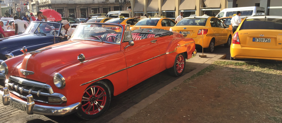 Oh the cars in Cuba!