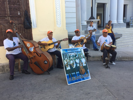 Music is EVERYWHERE in Cuba!