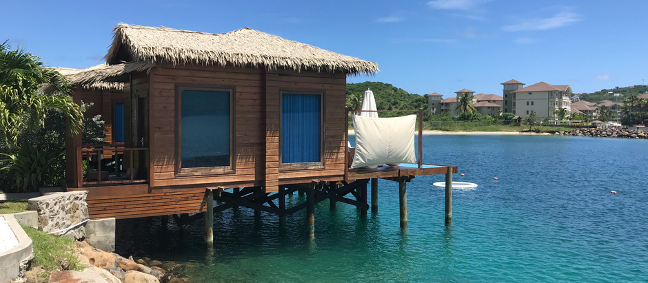 Over the Water Bungalows. . .WOW!