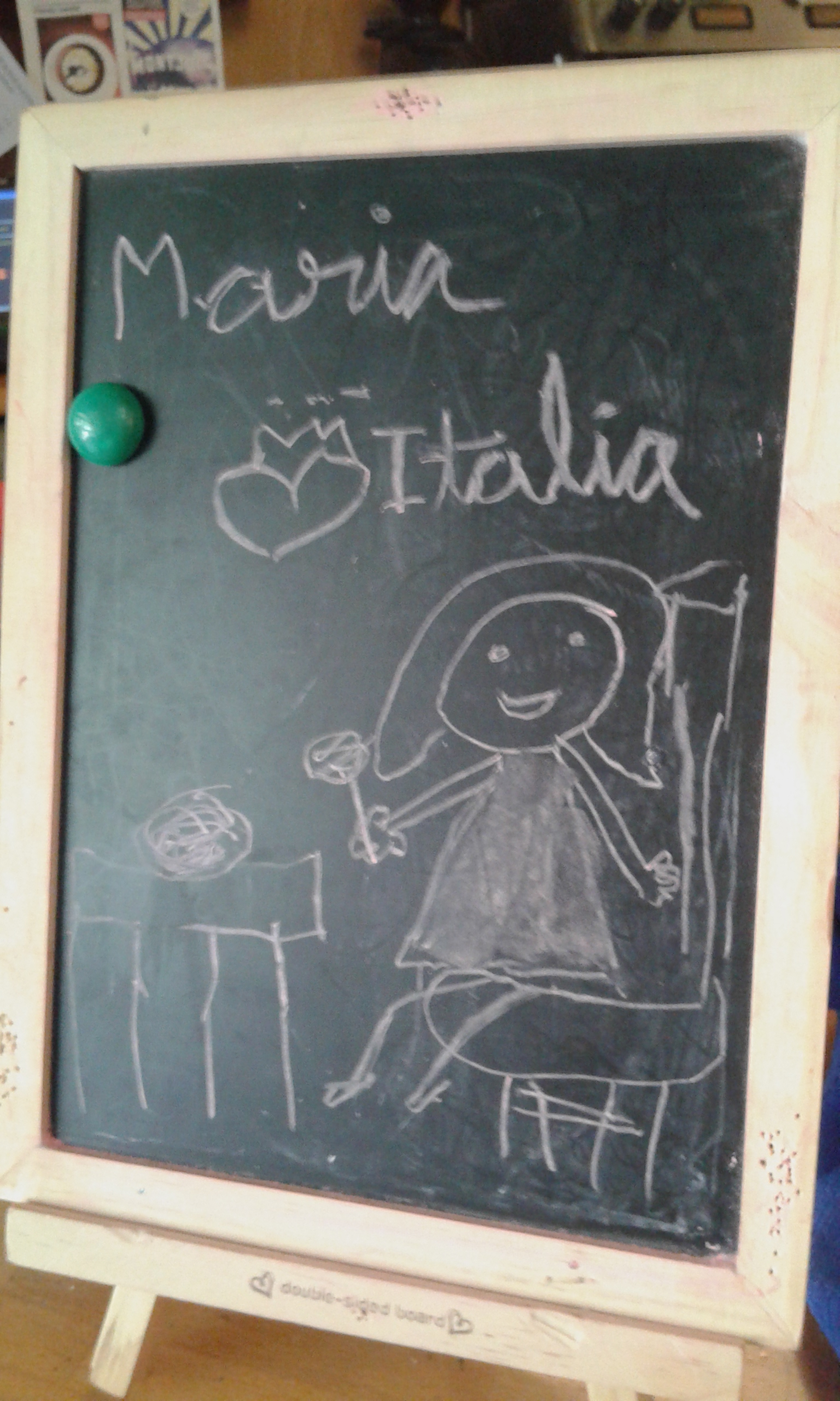 Maria loves Italia