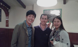 "Con i ""miei"" novelli sposi Coreani"