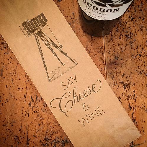 Say Cheese, Wine Bag