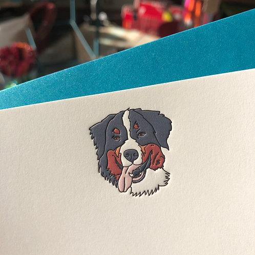 Bernese Mountain Dog Notecard