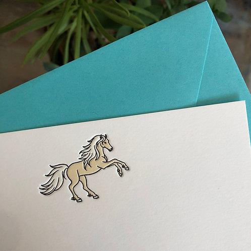 Horse Notecard